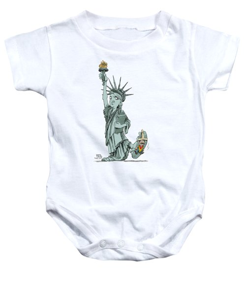 Immigration And Liberty Baby Onesie
