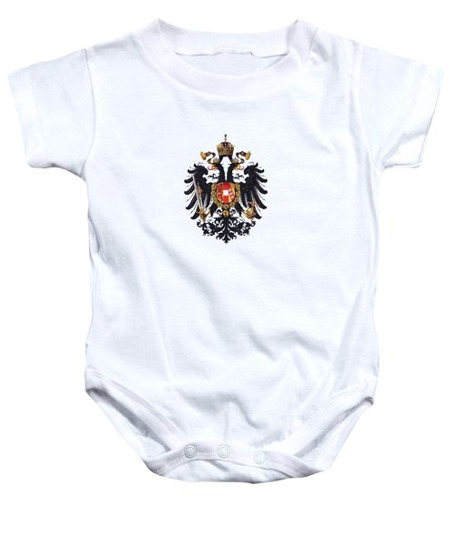 Imperial Coat Of Arms Of The Empire Of Austria-hungary 1815 Transparent Baby Onesie