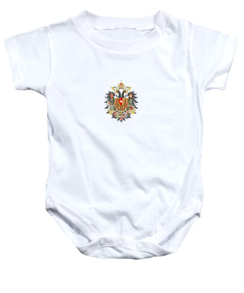 Imperial Coat Of Arms Of The Empire Of Austria-hungary Transparent Baby Onesie