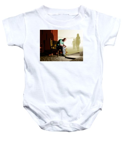 In A Fog Of Isolation Baby Onesie