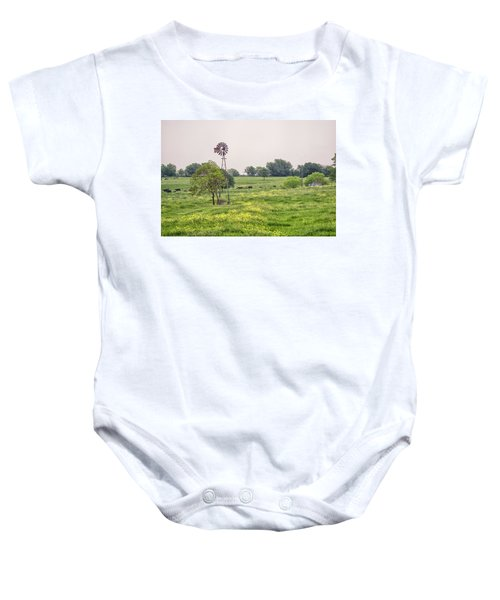 In The Country Baby Onesie