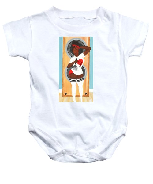 In The Groove Baby Onesie