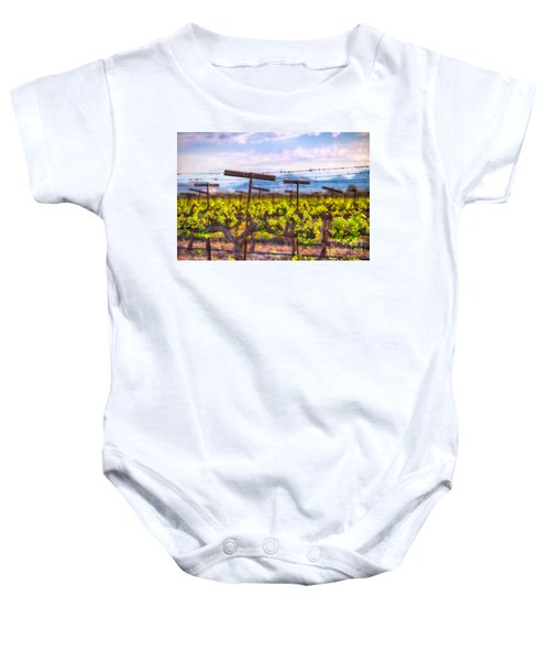 In The Vineyard Baby Onesie