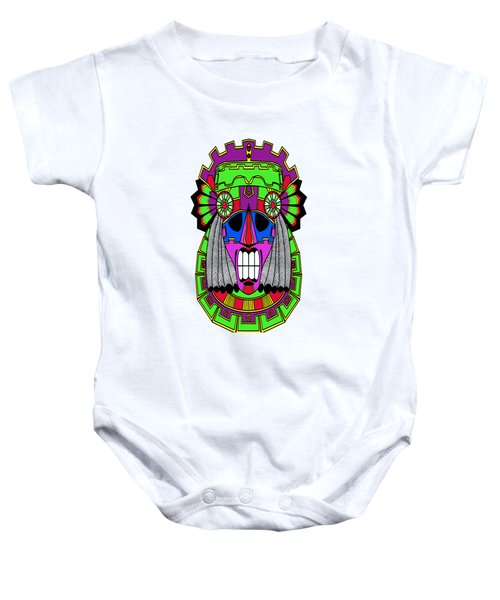 Indian Mask Baby Onesie