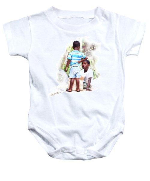 Indigenous Caribbean Kids In Panama Baby Onesie