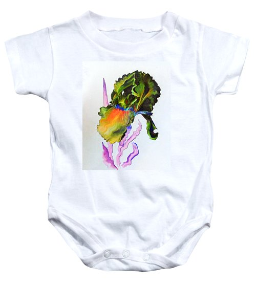 Iris Of A Different Color Baby Onesie
