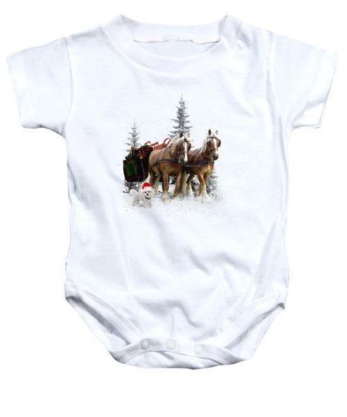 A Christmas Wish Baby Onesie
