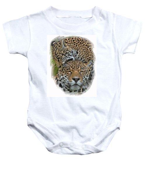 Jaguar Affection Baby Onesie