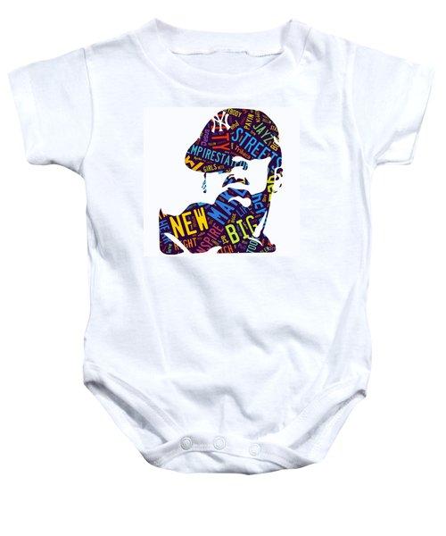 Jay Z Empire State Of Mind Baby Onesie