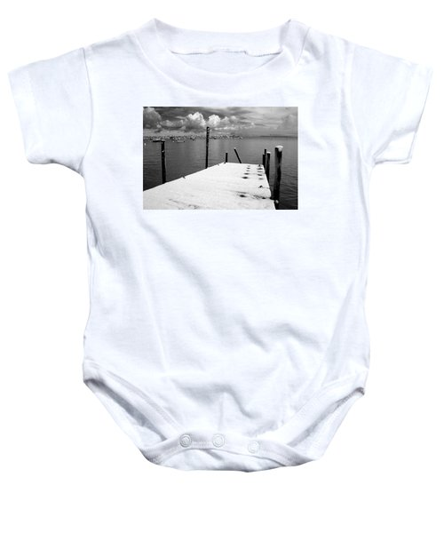 Jetty, Rhos-on-sea Baby Onesie