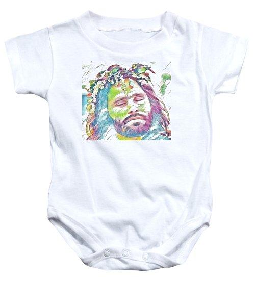 Jim Morrison Baby Onesie