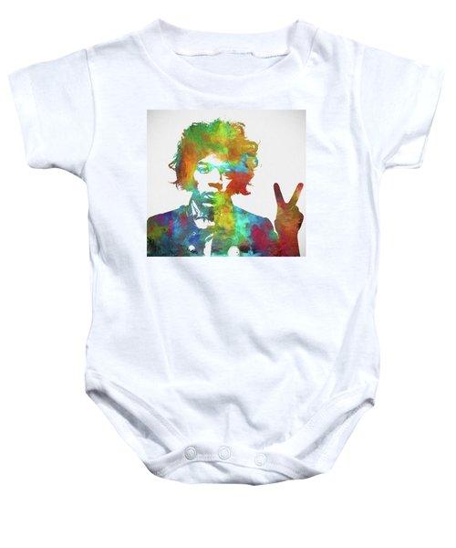 The Jimi Hendrix Experience Baby Onesies Fine Art America