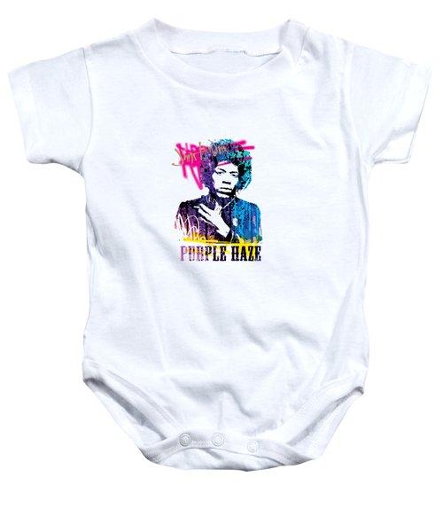 Jimi- Purple Haze Baby Onesie