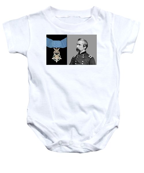 J.l. Chamberlain And The Medal Of Honor Baby Onesie