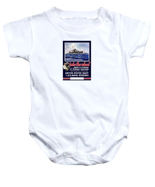 Join The Us Navy - Ww2 Baby Onesie