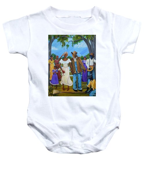 Jumpin' The Broom Baby Onesie