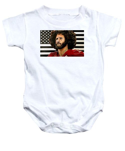 Kaeptain America Baby Onesie