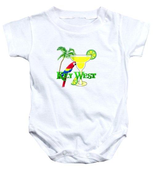 Key West Margarita Baby Onesie by Chris MacDonald