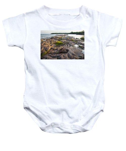 Killarney Granite Pink-4433 Baby Onesie