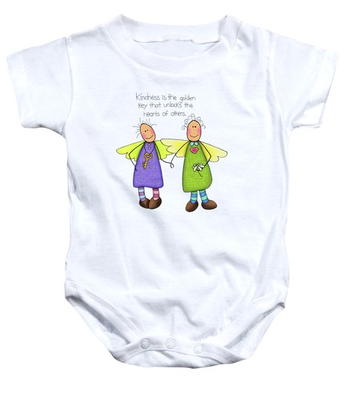 Kindness Baby Onesie by Sarah Batalka