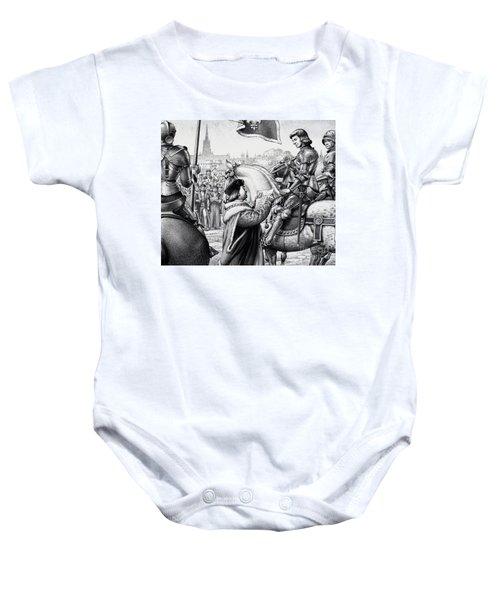 King Henry Vii Baby Onesie