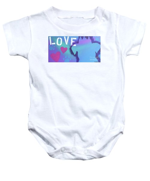 King Of My Heart Baby Onesie