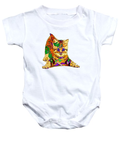 Kitty Love. Pet Series Baby Onesie