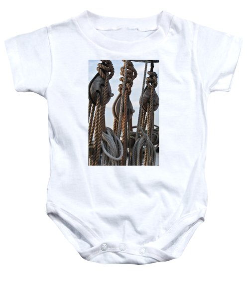 Knot Time Baby Onesie