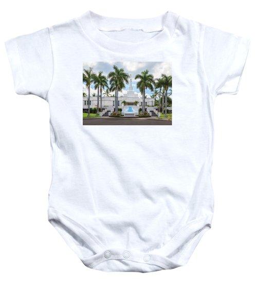 Kona Hawaii Temple-day Baby Onesie