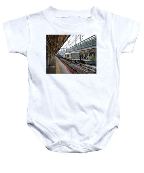 Kyoto To Osaka Train Station, Japan Baby Onesie