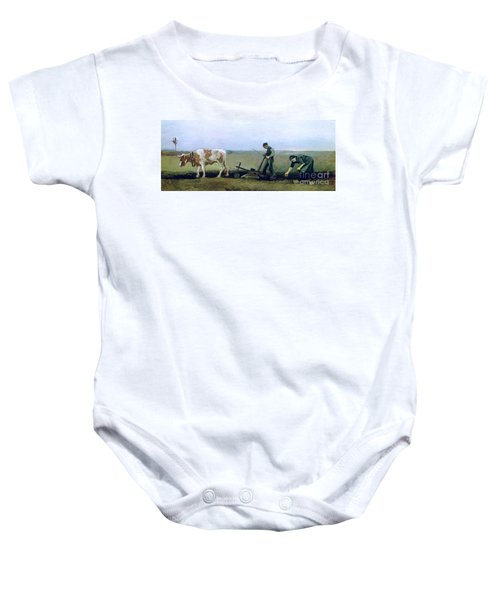 Labourer And Peasant  Baby Onesie