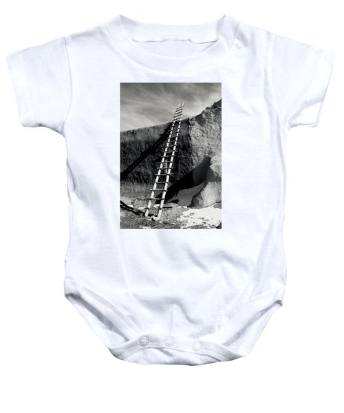 Ladder To The Sky Baby Onesie