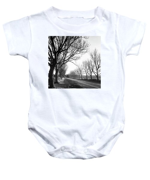 Lady Anne's Drive, Holkham Baby Onesie
