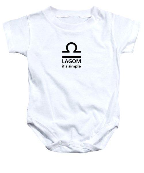 Lagom - Simple Baby Onesie