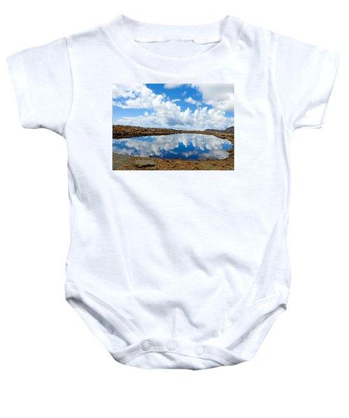 Lake Of The Sky Baby Onesie