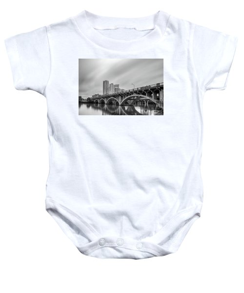 Lamar Bridge In Austin, Texas Baby Onesie