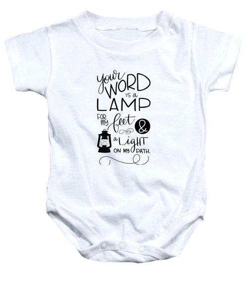 Lamp Baby Onesie