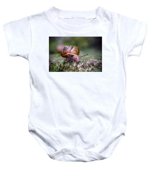 Land Snail II Baby Onesie