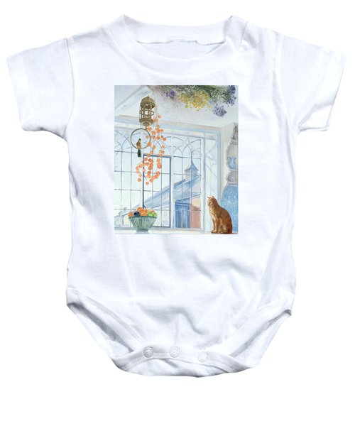 Lanterns Baby Onesie by Timothy Easton