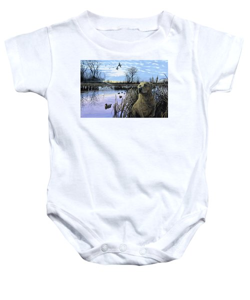 Late Season Mallards Baby Onesie