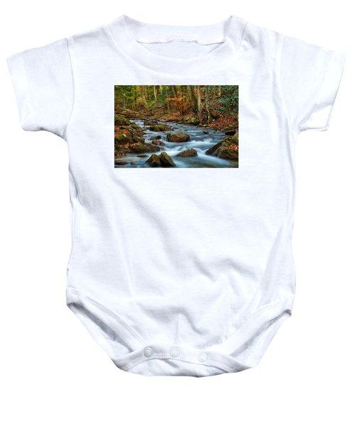 Laurel Fork In The Fall Baby Onesie
