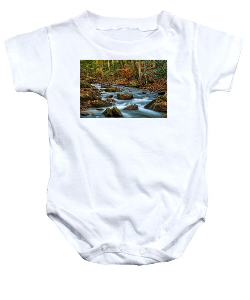 Laurel Fork In The Fall Baby Onesie