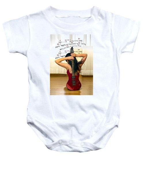 Layla Baby Onesie by Donovan Torres