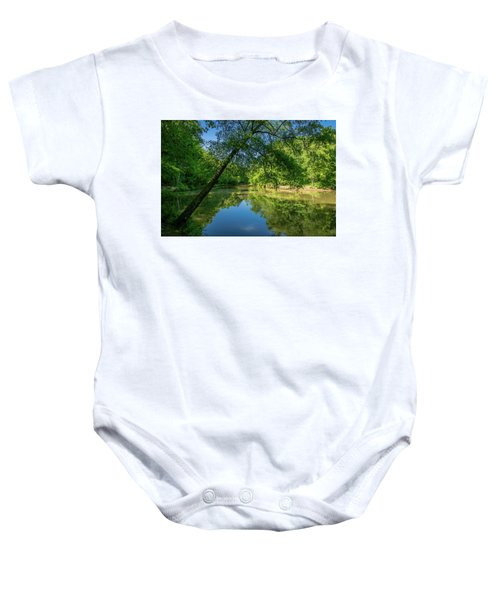 Lazy Summer Day On The River Baby Onesie