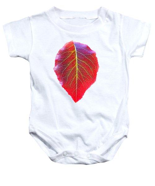 Leaf Of Autumn Baby Onesie