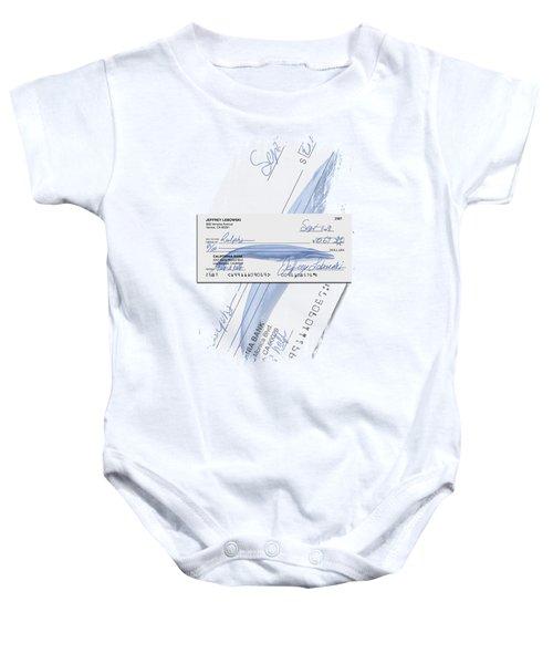 Lebowski's Check Baby Onesie by Filippo B