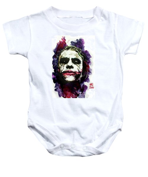 Ledgerjoker Baby Onesie by Ken Meyer jr