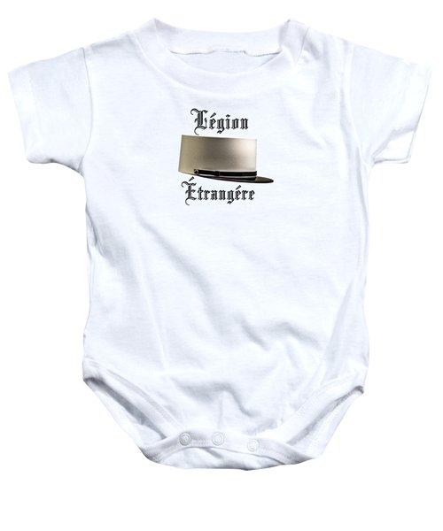 Legion Etrangere_transparent Baby Onesie