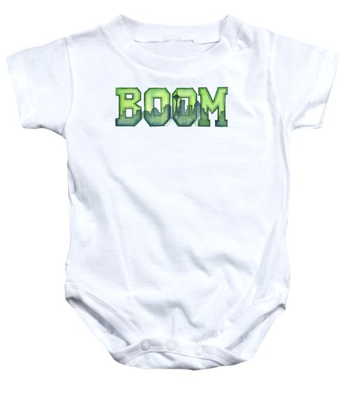 Legion Of Boom Baby Onesie by Olga Shvartsur