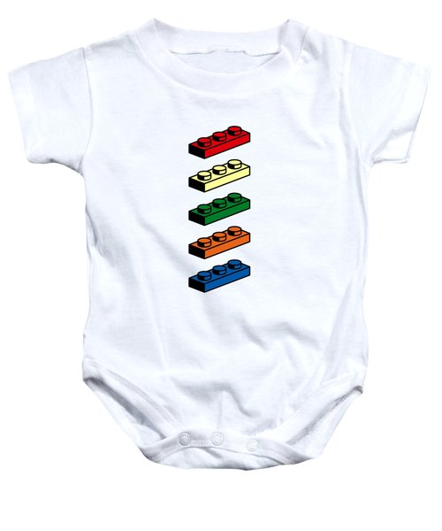 Lego T-shirt Pop Art Baby Onesie